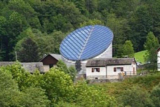 Mario Botta's Mountain Church: Chiesa di Mogno