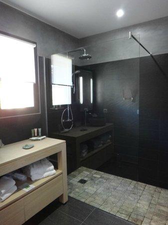 Hotel A Piattatella: la salle de bains