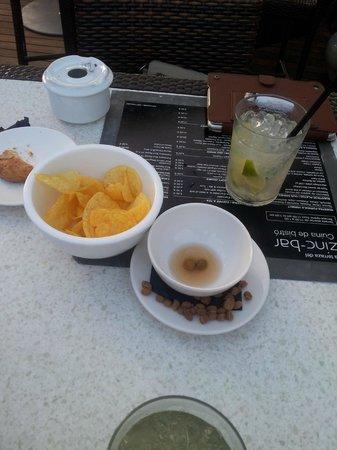 Mojito & chips