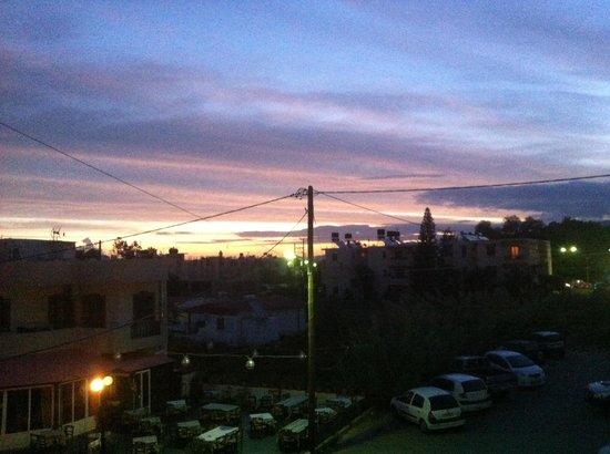 Ilios Studios: Sunrise from our beautiful balcony!