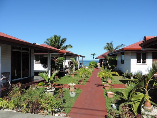 Pension Opeha : bungalows