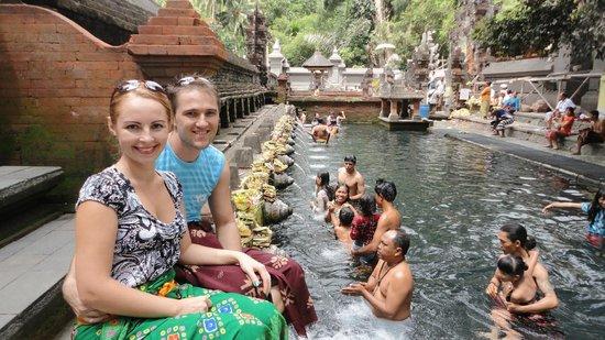 Keraton Jimbaran Beach Resort: Holly Water Temle
