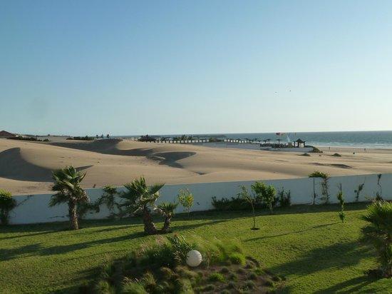 Sofitel Agadir Thalassa Sea & Spa: vue aile gauche