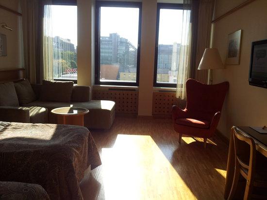 Original Sokos Hotel Vaakuna: 広めの客室