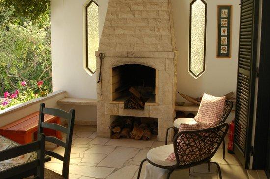 Quinta Colina Flora: Private patio outside Magnolia Room