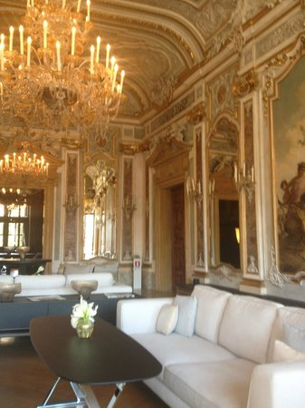 Aman Canal Grande Venice Resort: The stunning dining area