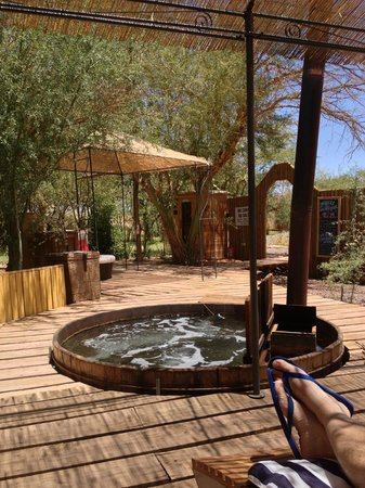 Atacama Adventure Wellness & Ecolodge: Jacuzi