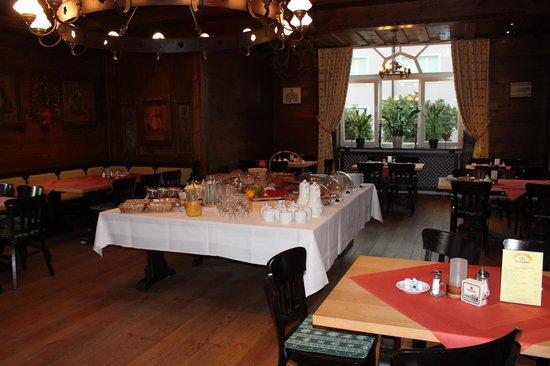 Bierhotel Bischofshof Braustuben : Breakfast at the Bierhotel