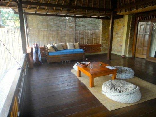 Alam Gili : ma terrasse privée