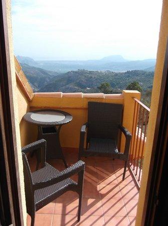 Hotel Alahuar: Balkon