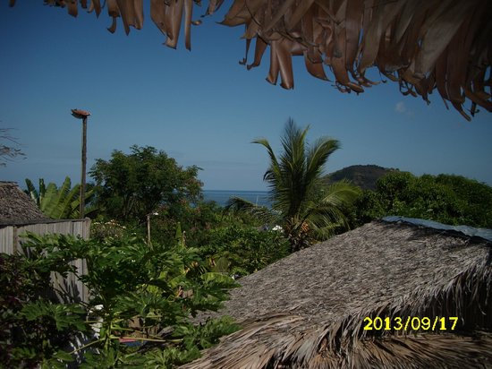 La Merveille: Panorama dalla terrazza