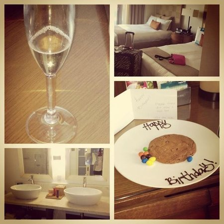 Kimpton EPIC Hotel: Our Room and Birthday Surprise