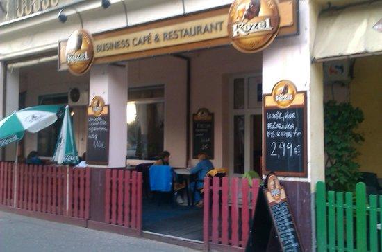 Business caffe & restaurant