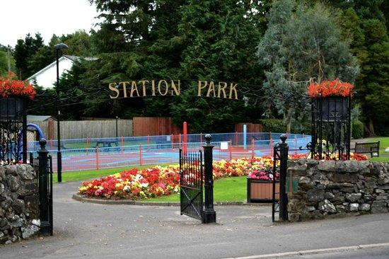 Balmoral Hotel: Station Park Moffat