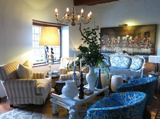 Augusta de Mist Country House : Hotel lounge