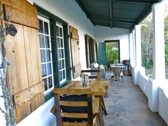 Augusta de Mist Country House: Veranda