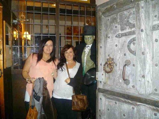 Skirrid Mountain Inn : Me and my sister