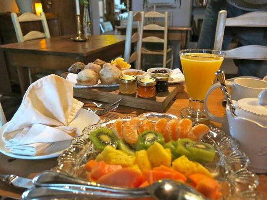 Augusta de Mist Country House: Breakfasts are indulgent