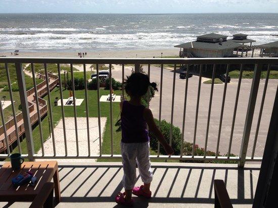 Holiday Inn Club Vacations Galveston Beach Resort: Our view