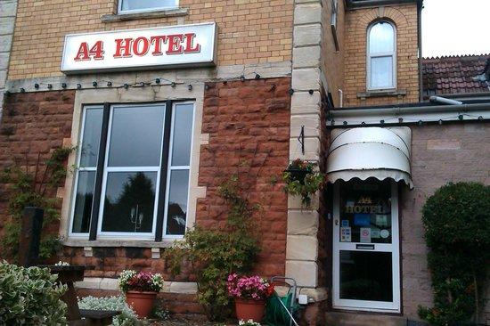 A4 Hotel: Front Enterance