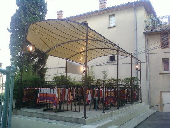 Au Moulin Gourmand - Maître Restaurateur : Terrasse