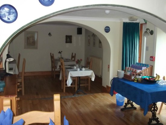 Cwmwennol Country House: dinning room