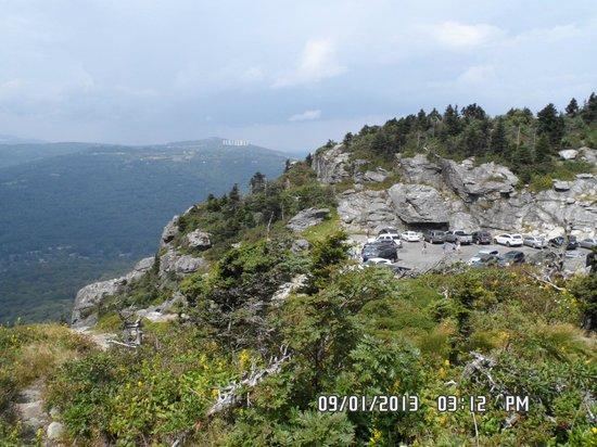 Highlands at Sugar: Grandfather mountain view