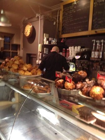 Keoghs Cafe: huge selection still warm from the oven when you go early