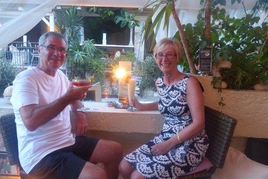 9 Muses Hotel Skala Beach: coctails in captains bar