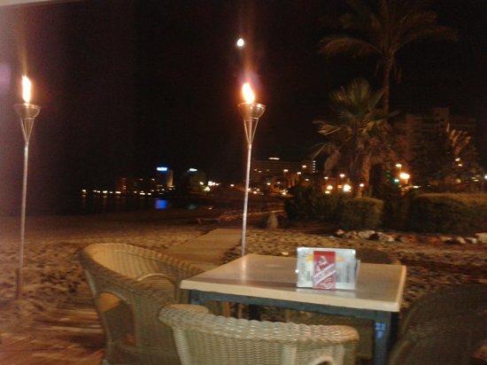 Maracas Beach Bar: View
