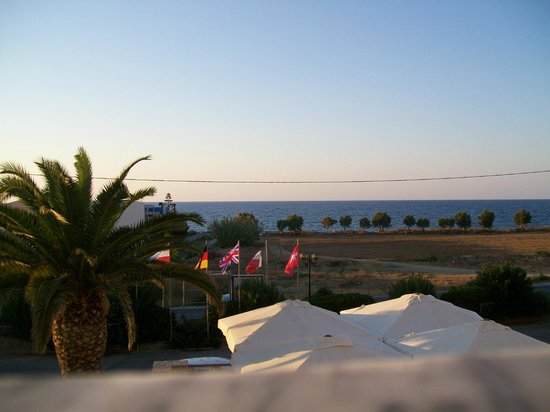 Solimar Dias Hotel : view from balcony of an evening