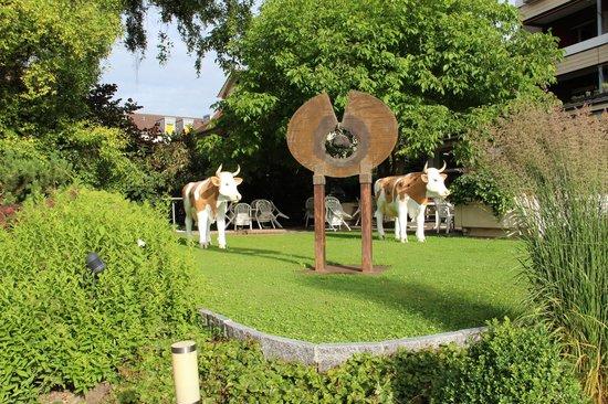 Stella Hotel Interlaken: Gardens