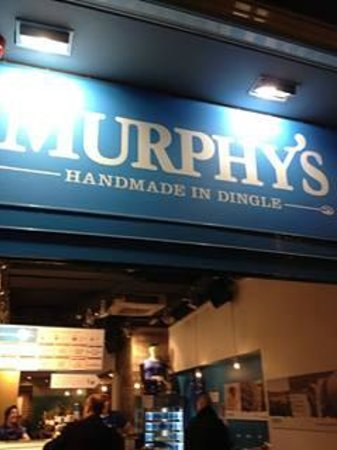 Murphys Ice Cream: signage