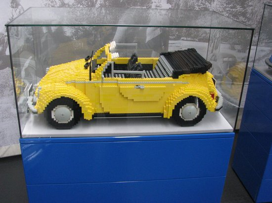 legobil photo de volkswagen auto museum wolfsburg tripadvisor. Black Bedroom Furniture Sets. Home Design Ideas