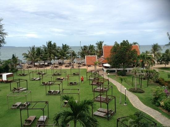 Pinnacle Grand Jomtien Resort: view from our room