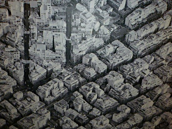 Periscope Hotel: Map of Athens on the ceiling..better than counting sheeps
