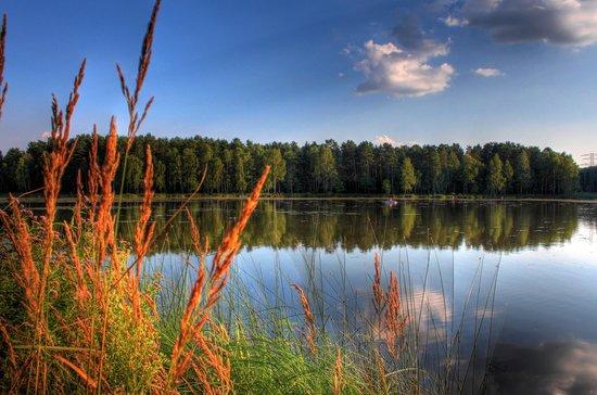 Kalety, بولندا: Kalety - staw Zielona Górna