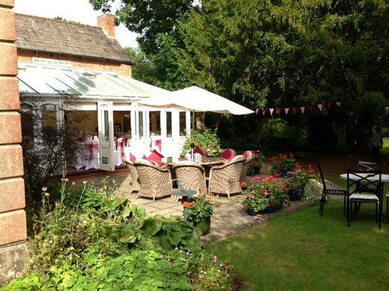 Old Rectory House: Patio & Gardens