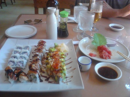Hinoki Japanese Restaurant & Sushi Bar : Birthday Lunch