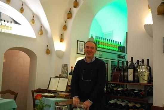 Ristorante Al Grottino: A very friendly welcome back!