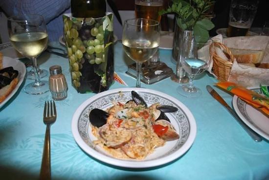 Ristorante Al Grottino: Seafood risotto