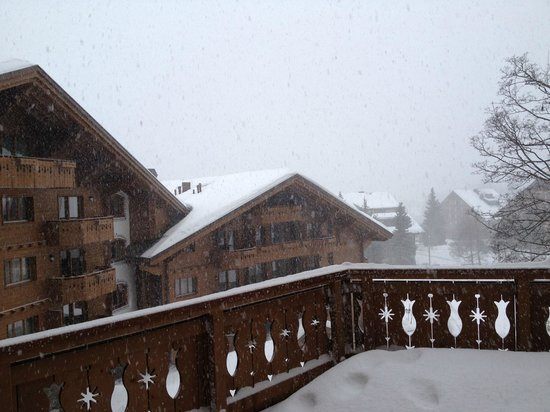 Chalet RoyAlp Hotel & Spa : Snow storm
