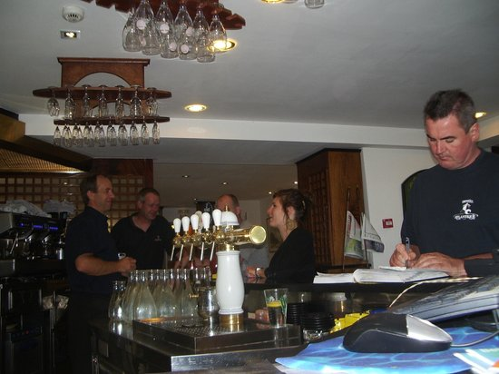 Hotel-Restaurant Atlantique : bar