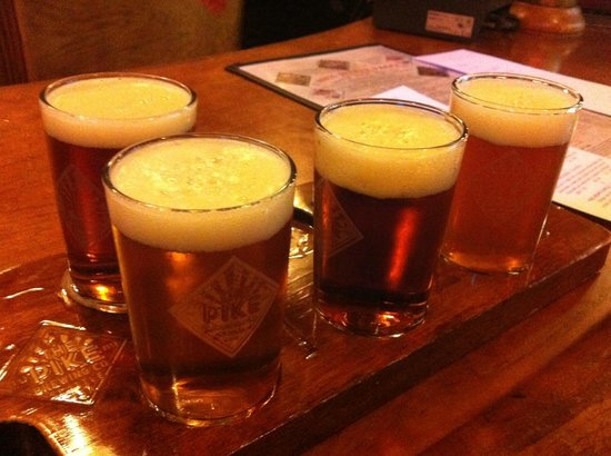 The Pike Pub and Brewery: craft beers