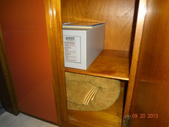 Majestic Rio Palace Hotel: hay una caja fuerte..