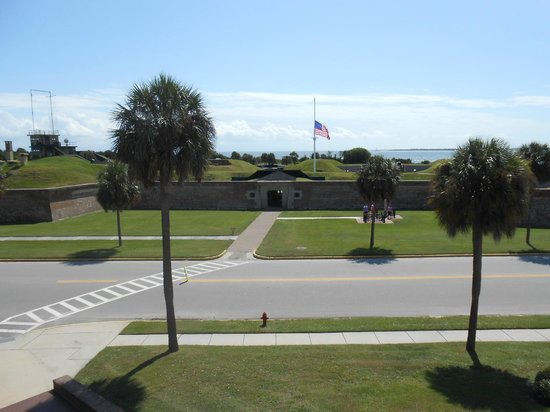 Land Side Fort Moultrie