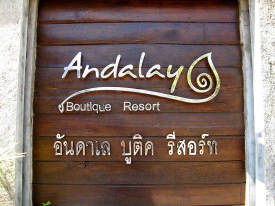 Anda Lay Boutique Resort: Entrance