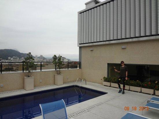 Majestic Rio Palace Hotel: terraza