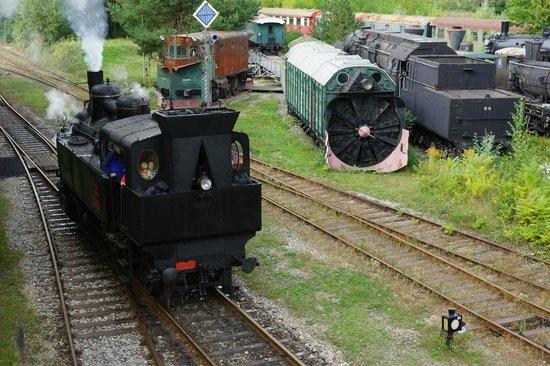Das Heizhaus Eisenbahnmuseum Strasshof: Aussengelaende 1