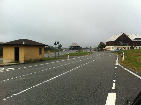 Panorama Hotel: Border crossing.
